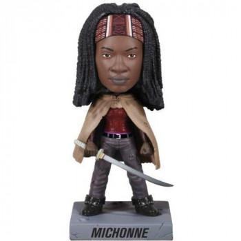Funko caminando muerto Michonne Wacky Wobbler-830395030715-0