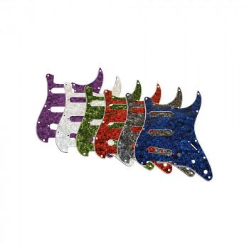 Gear 3 Single-Coil perlado golpeador verde de músico-840246018489-0