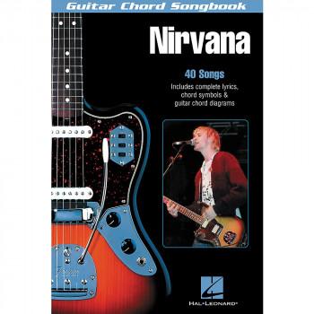 Hal Leonard Nirvana Guitar Chord Songbook-884088013134-0