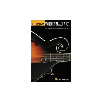 Hal Leonard mandolina escala buscador 6 x 9 libro-73999476828-0