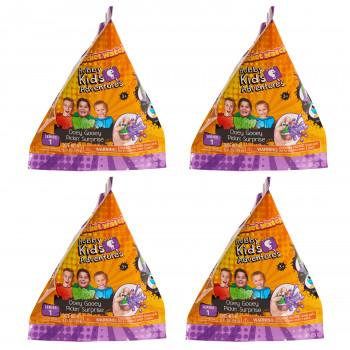HobbyKids Ooey Gooey Pickin' Sorpresa De La Serie 1 - Paquete De Paquete 4 Paquete De Blindpack - -886144665004-0
