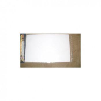 """Hoja de placa de la pisada de 1: 100, 7,5 """"x 12"""" (2) varios colores-734560974562-0"""