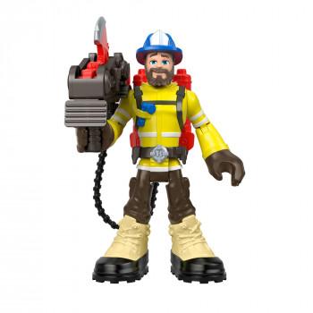 Héroes del rescate Forrest Fuego de 6 Pulgadas de la Figura con Accesorios - -887961771084-0