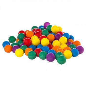 INTEX bolas grandes de plástico multicolor divertida Ballz - Pack 100 49600EP-78257315123-0
