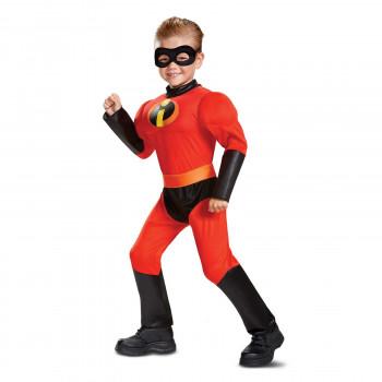 Incredibles 2 Dash Niño Pequeño Clásico Del Músculo Traje-039897668727-0
