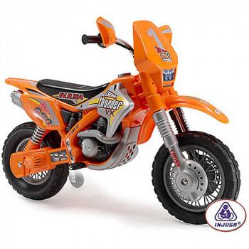 Injusa Thunder Max 12V VX Dirt Bike-410964068114-0