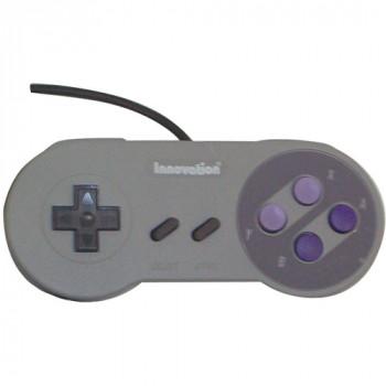 Innovación Innov0315 Super Nintendo entretenimiento sistema controlador de juegos (SNES)-738012130315-0