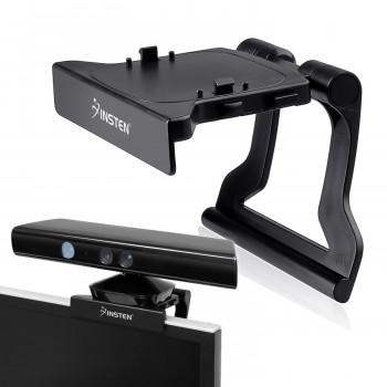 Insten Kinect Sensor TV Clip soporte de montaje soporte para Xbox 360 / Slim, negro-65NKIC2j1142-0