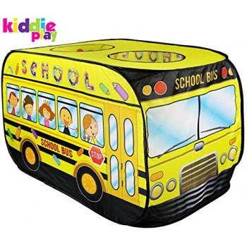 Juegos de Juego de la Escuela de Autobús Pop Up Play Tienda de campaña para Niños-755756620599-A-0