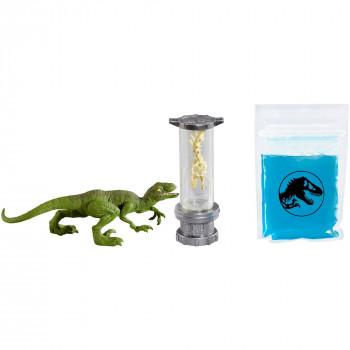 Jurassic World Limo Dino Laboratorio de ADN Kit de Velociraptor-887961664980-0