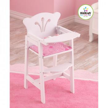 KidKraft Lil' alta silla de madera de la muñeca-706943611012-0