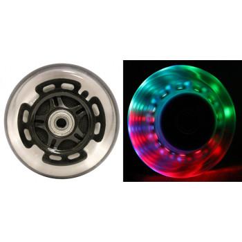 LED SCOOTER ruedas ABEC9 rodamientos de RAZOR SCOOTERS 100mm luz negra 2-Pack-57PLUKbO9784-0