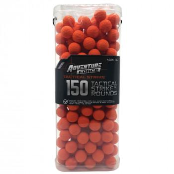 La aventura de la Fuerza De 150 Pieza Táctica de la Huelga de Rondas, de color Naranja con Reutilizables Cuadro-729747530655-0