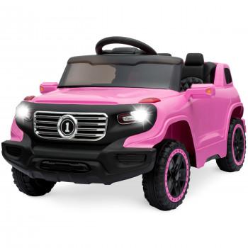 La mejor Elección de los Productos de los Niños 6V Paseo En Camión w/ Parent Control Remoto, 3 Velocidades, Luces LED, de color Rosa - Real lor: rosa-842957111008-0