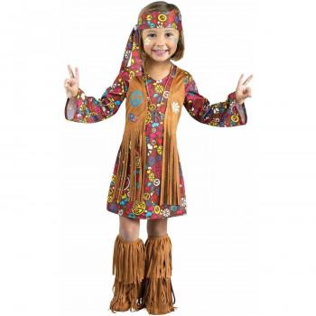 La paz y el Amor Hippie Niño del Traje de Halloween-071765052849-0