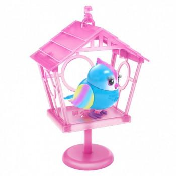 Little Live Pets Lil' Bird & Bird House - New Moving Bird - Tweets rainbow - -630996261026-0