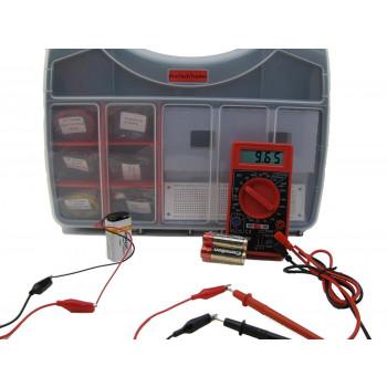 Marca: Electrónica 2ª Edición Componente Pack 1 Deluxe - Electrónico Kit para el Experimento 1-11 en Hacer: Electrónica 2ª Ed por Charles Platt-789048342708-0