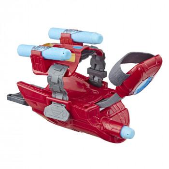 Marvel Los Vengadores, Iron Man Repulsor Nerf Blaster Gauntlet - -630509756568-0