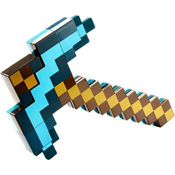 Mattel Minecraft Transformación De La Espada Y Pico De La Figura De Acción-887961460797-A-0