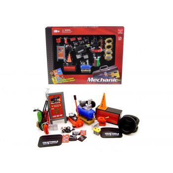 Mecánica de juego de Accesorios Para la Escala 1/24 de Coches de 23 Piezas por Phoenix Juguetes-742305184152-0