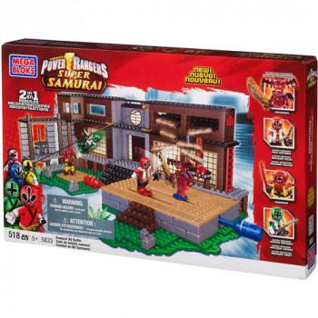 Mega in bloque de Power Rangers Super Samurai Samurai HQ Batalla Set #5833-065541058330-0