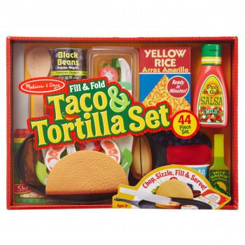 Melissa & Doug Taco & Tortilla Set EA --000772093705-0