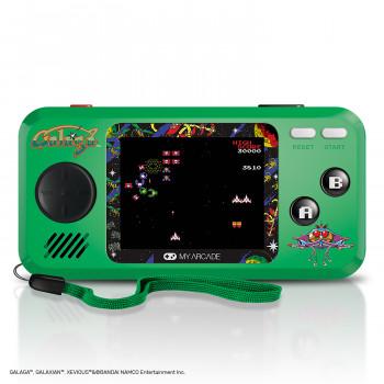 Mi Arcade Galaga Bolsillo Jugador - Coleccionables Consola Portátil con 3 Juegos -845620032440-0