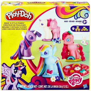 Mi pequeño Pony Play-Doh hacer N estilo Pony Playset-630509270934-0