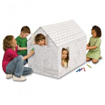 Mi propia casa oculta y busca Playhouse con marcadores lavables-699351100868-0