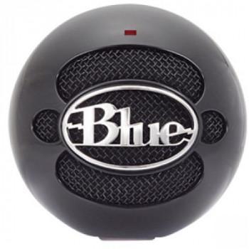 Micrófonos Blue Snowball USB micrófono (negro brillante)-836213001912-0