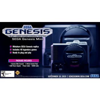 Mini consola de videojuegos Sega Genesis -010086100372-0
