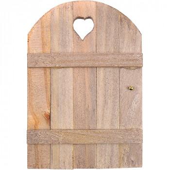 "Mini jardín hadas puerta, 6 ""x 4"", madera-684653505527-0"