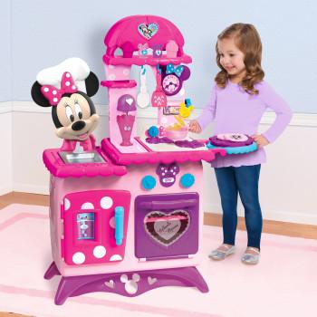 Minnie Mouse Voltear Divertido Juego de Cocina con 12 Minnie Inspirado Accesorios de Cocina - -886144897269-0