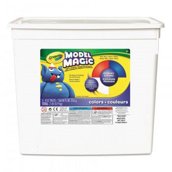 Modelo de Crayola mágica en colores primarios, 2 libras tina-071662544157-0