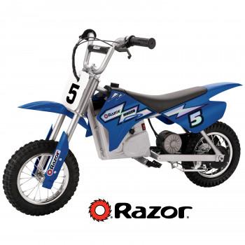 Motocicleta Eléctrica Razor MX350 Dirt Rocket 12'' color azul-845423001346-0