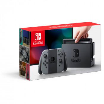 Nintendo de la Consola del Conmutador Gris con Alegría-Con, 045496590086-045496590086-0
