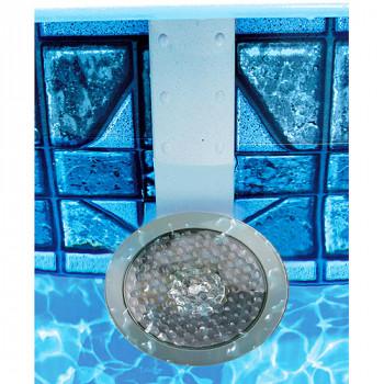 NiteLighter piscina de 50 vatios luz, estilo de pared en acero-628208100027-0