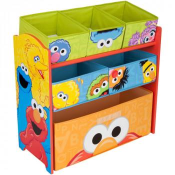 Organizador del juguete de multi-Bin calle sésamo-080213018931-0