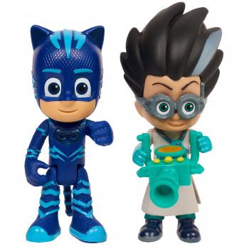 PJ Máscaras de Luz Héroe y Villano 2-Pack - Catboy y Romeo-886144248863-0