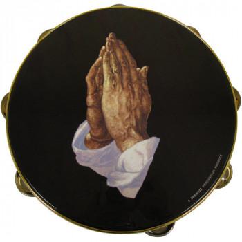 """Pandero remo, 8""""- manos orando-757242107874-0"""