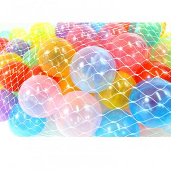 (Paquete de 100) Claro bolas de hoyo libre, machacar-prueba del ftalato-54PMXCNl0580-0
