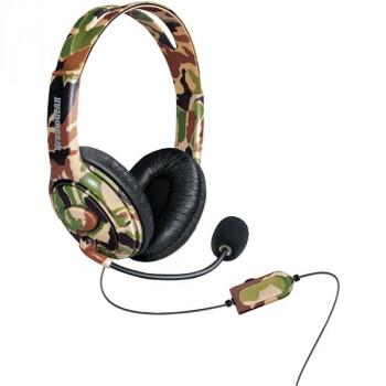 Para DREAMGEAR 6618 DGXB1 Xbox One(TM) con cable auricular con micrófono (camuflaje)-845620066186-0