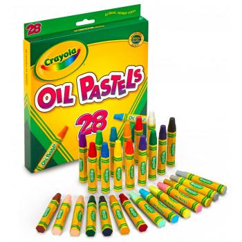 Pasteles al óleo de Crayola, 28-Color Set, surtidos-071662046286-0