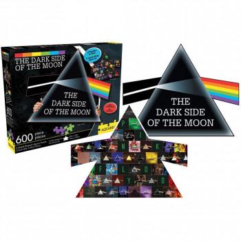 Pink Floyd Lado Oscuro de la Luna 600 Pieza de Doble cara, Rock por RMN Calendarios-840391101562-0