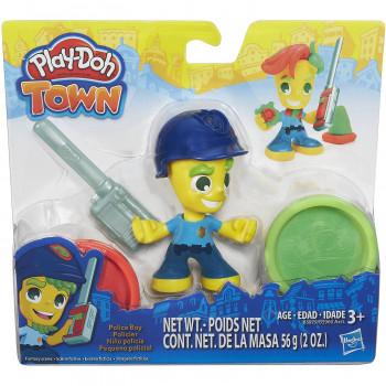 Play-Doh ciudad policía chico-630509394265-0