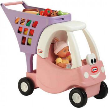 Poco acogedor de princesa Tikes carrito de compras-050743620195-0