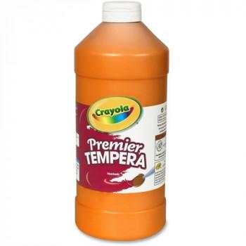 Premier de témperas, naranja, 32 oz, vendido como 1 cada-071662036362-0