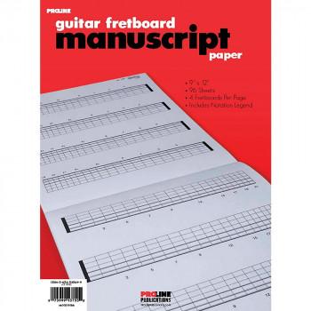 Prolina Fretboard manuscrito papel-73999137552-0