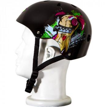 Punisher patinetas Jinx ajustable todo deporte Skate estilo casco, medio-725103920115-0
