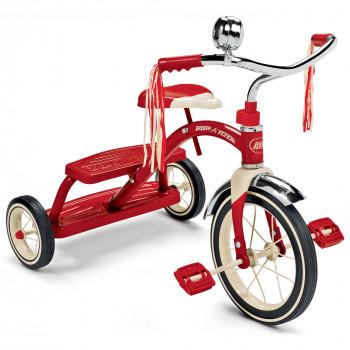 Radio Flyer Classic Rojo De Doble Cubierta Triciclo-042385112794-0